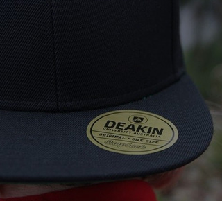 Deakin snapbacks get snapped up on campus thumbnail