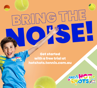 Hardhat create a racquet with ANZ Tennis Hot Shots thumbnail